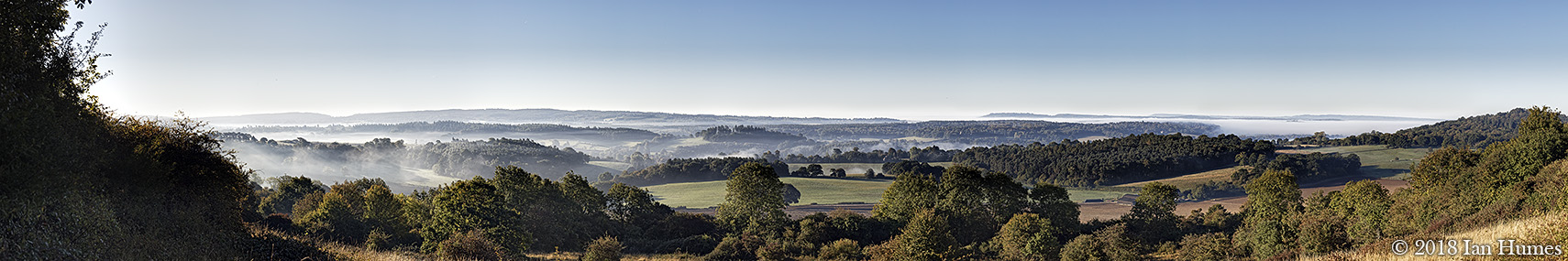 Newlands Corner Dawn - Surrey